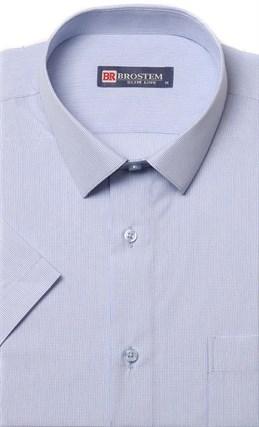 Полуприталенная рубашка с коротким рукавом BROSTEM 1SBR47-10s - фото 11007