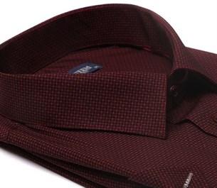 Большая хлопковая рубашка короткий рукав BROSTEM 1SG057-3 - фото 11014
