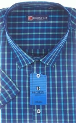 100% хлопок рубашка большого размера BROSTEM 8SG16-13sg - фото 11037