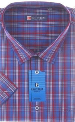 100% хлопок рубашка большого размера BROSTEM 8SG16-2sg - фото 11038