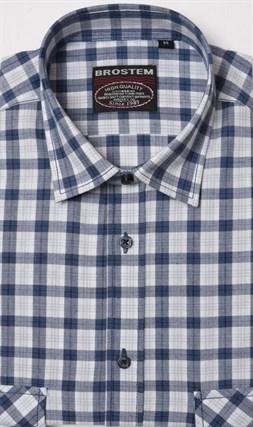 100% хлопок рубашка мужская SH3s Brostem - фото 11091