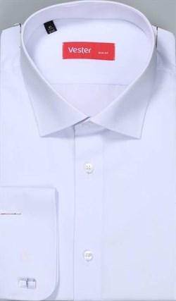 Рубашка прямая белая VESTER 70714-14-56 - фото 11099