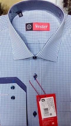 Рубашка приталенная VESTER 87114s-01 - фото 11107