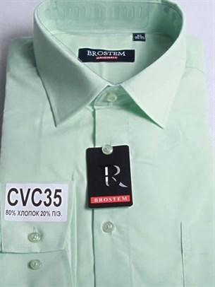 Мужская рубашка с коротким рукавом BROSTEM CVC35sg - фото 11143
