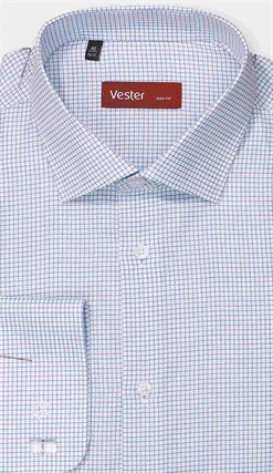 Рубашка приталенная VESTER 27914-13w-21 - фото 11193