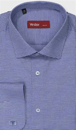 Рубашка приталенная VESTER 27914-14w-21 - фото 11210
