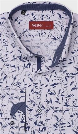 На высокий рост рубашка VESTER 281142-08w-21 - фото 11226
