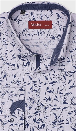 Рубашка полуприталенная VESTER 28114-08w-21 - фото 11237