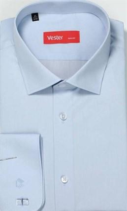 На высоких сорочка VESTER 707142-03 приталенная(Макс) - фото 11264