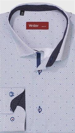 На высокий рост рубашка VESTER 281142-12w-21 - фото 11268