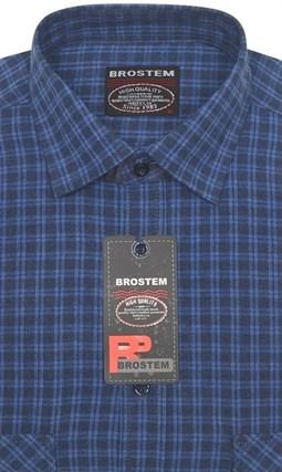 Большая фланелевая рубашка BROSTEM KA15004g - фото 11271