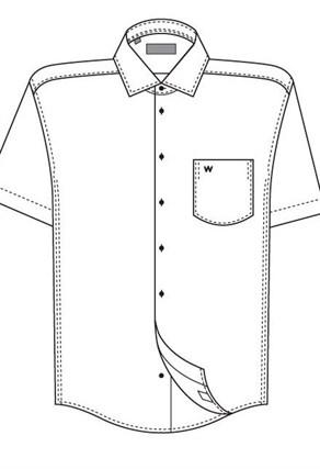 Большая сорочка короткий рукав VESTER 702141-14-55 - фото 11283