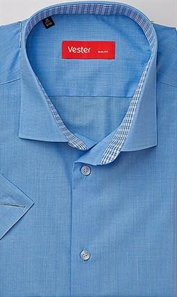Большая сорочка с коротким рукавом VESTER 860141-70sp-20 - фото 11288