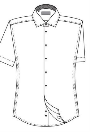 Большая сорочка с коротким рукавом VESTER 860141-70sp-20 - фото 11290