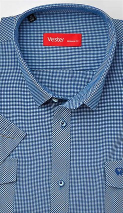 Большая сорочка короткий рукав VESTER 888141-23sp-20 - фото 11292