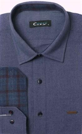Фланелевая приталенная рубашка City Race 9LCR4-3 - фото 11350