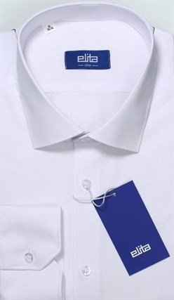 Большая белая рубашка ELITA 700121-00 - фото 11373