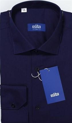 Большая тёмно-синяя сорочка ELITA 700121-22 - фото 11375