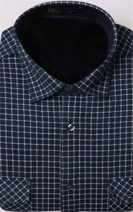 Зимняя на флисе рубашка BROSTEM MS2A1-68 с карманами - фото 11393