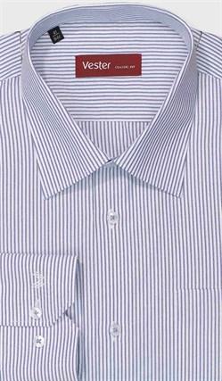 Большая рубашка в полоску VESTER 699141-61w-21 - фото 11417