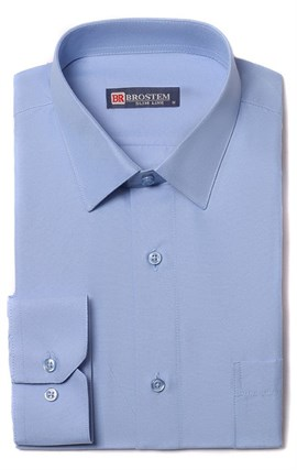 Полуприталенная рубашка 9LBR123-3 - фото 11424