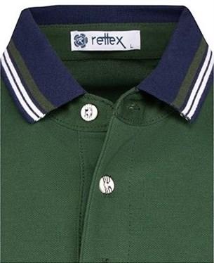 Поло 100% хлопок RETTEX 3922-23 зеленое - фото 11447
