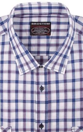 100% хлопок рубашка большая SH2sg Brostem - фото 11482