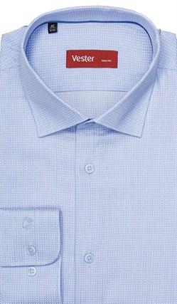 Рубашка 100% хлопок VESTER 13841-01sp-21 - фото 11493