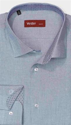 Рубашка высокий рост VESTER 93014L-19 (sp21) - фото 11608