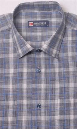 Летняя рубашка лен с хлопком BROSTEM 1SBR031-3 - фото 11642
