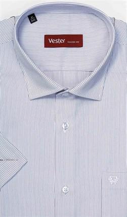 Большая сорочка короткий рукав VESTER 39815F-22 - фото 11646