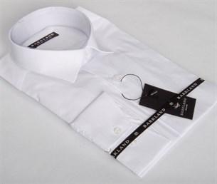Сорочка белая BARKLAND 1155 BSF приталенная - фото 4489