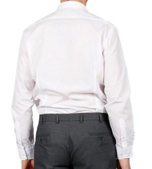 Сорочка белая BARKLAND 1155 BSF приталенная - фото 4491