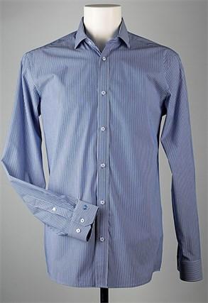 Сорочка мужская VESTER 91718W-02н приталенная - фото 5644