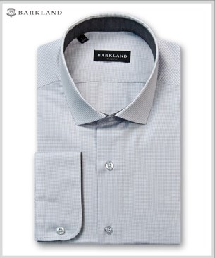 Мужская рубашка 20229 BSF BARKLAND приталенная - фото 6817