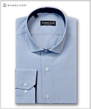 Мужская рубашка 20281 BRF BARKLAND полуприталенная - фото 6849