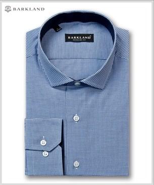 Мужская рубашка 20282 BRF BARKLAND полуприталенная - фото 6850