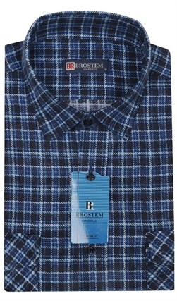 Мужская фланелевая рубашка BROSTEM F95 (F107H) - фото 7061