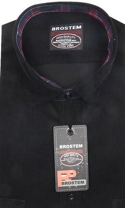 Вельветовая полуприталенная рубашка хлопок 100 % Brostem V2 Z - фото 7387