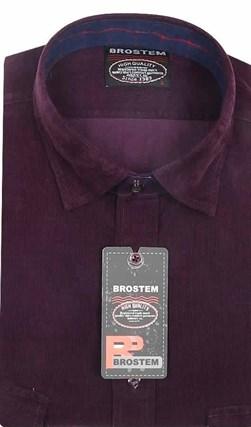 Вельветовая мужская рубашка хлопок 100 % Brostem V21 Z - фото 7390