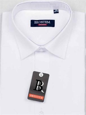 Рубашка прямая с коротким рукавом BROSTEM CVC2s - фото 7474