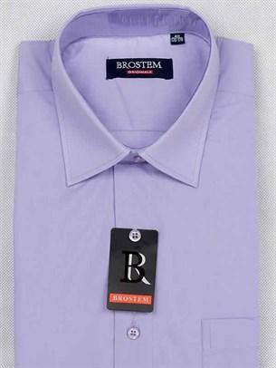 Короткий рукав прямая рубашка BROSTEM CVC8s - фото 7498