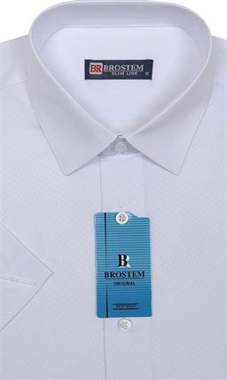 Белая с модалом рубашка 4701As Brostem - фото 7514