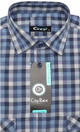 Фланелевая приталенная рубашка City Race KAC1705 - фото 7862