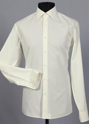 Приталенная рубашка хлопок 100 % VESTER 70714W-02н шампань - фото 8123