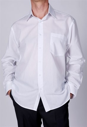 Белая прямая сорочка BROSTEM CVC2 - фото 8242