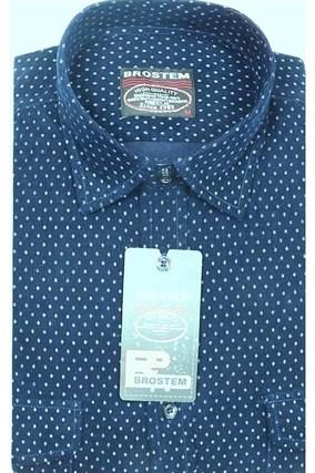 Вельветовая мужская рубашка хлопок полуприталенная Brostem  VT1 - фото 8435