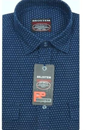 Вельветовая мужская рубашка хлопок полуприталенная Brostem  VT5 - фото 8447