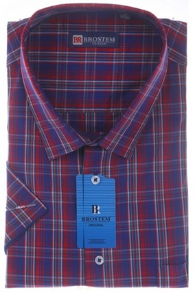Мужская рубашка большого размера BROSTEM 8SG16-5sg - фото 8480
