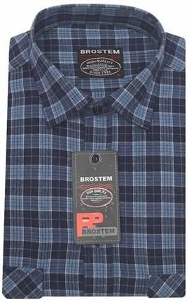 Большая фланелевая рубашка BROSTEM KA2431Dg - фото 8641